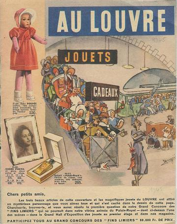 Catalogue Au Louvre 1945