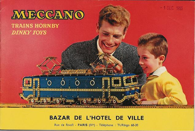 Catalogue Meccano 1955